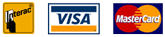 We accept Interac, Visa and Mastercard